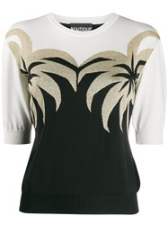 Boutique Moschino Palm Tree Knitted Top 60