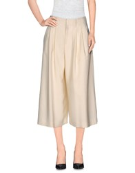 Alice Olivia Alice Olivia Trousers 3 4 Length Trousers Women Ivory