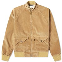 Levi's Levis Vintage Clothing Fresh Produce Bomber Jacket Brown