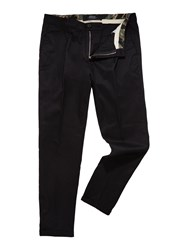 Replay Men's Slim Fit Stretch Dobby Trousers Black