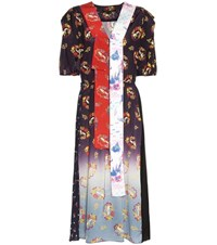 Marc Jacobs Victorian Print Dress Multicoloured