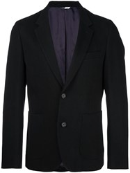Paul Smith Ps By Two Button Blazer Black