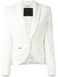Philipp Plein 'Carry On' Blazer White