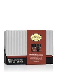4 Elements Of The Perfect Shave Mid Size Kit Sandalwood Brown The Art Of Shaving