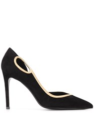 Balmain Miley Low Cut Pumps Black