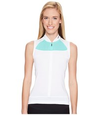 Louis Garneau Beeze 2 Sleeveless White Mojito Women's Sleeveless