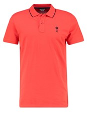 Jack And Jones Jcostone Regular Fit Polo Shirt Poppy Red