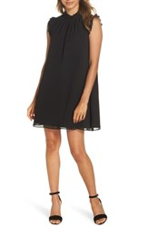Ali And Jay Wonderful Things Ruffle Neck Shift Dress Black