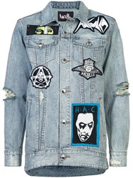 Haculla Rancid Denim Jacket Blue