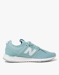 New Balance 247 In Storm Blue White