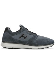 Hogan Lateral Patch Sneakers Blue
