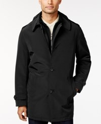 Kenneth Cole New York Raven Slim Fit Raincoat Black