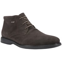 Geox Brayden Amphibiox Waterproof Leather Chukka Boots Coffee