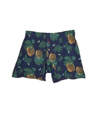 Tommy Bahama Fruit For Thought Knit Boxers Navy Combo Men's Underwear