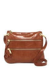 Hobo Everly Leather Crossbody Brown