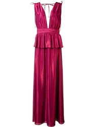 Zac Posen 'Azalea' Dress Pink Purple