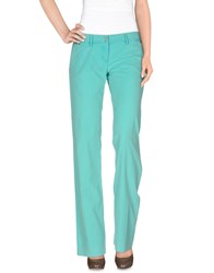 Weber Trousers Casual Trousers Women Turquoise