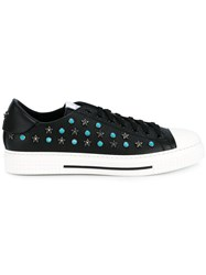 Valentino 'Star Studded' Sneakers Black