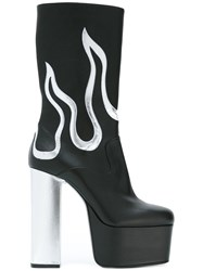 Dsquared2 Queen Boots Black