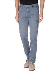 Fred Mello Trousers Casual Trousers Men Slate Blue