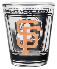 Hunter Manufacturing San Francisco Giants 3D Collector Glass Team Color