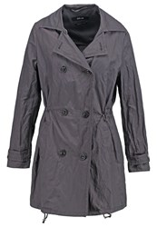 Opus Helenka Trenchcoat Granite Grey