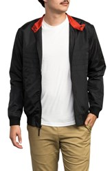 Rvca X Campbell Brothers Windbreaker Jacket Rvca Black