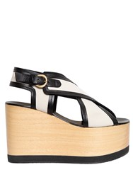 Isabel Marant 110Mm Zlova Canvas Criss Cross Sandals