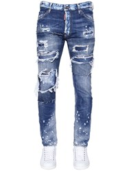 Dsquared 16.5Cm Cool Guy Fit Ripped Denim Jeans