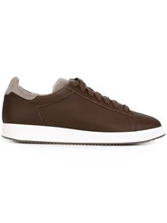 Brunello Cucinelli Chunky Sole Sneakers Brown