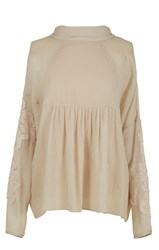 Tibi Anai Embroidery Blouse