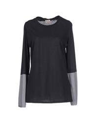 Douuod Topwear T Shirts Women Steel Grey