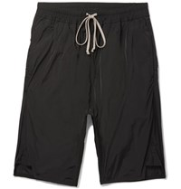Rick Owens Shell Shorts Black