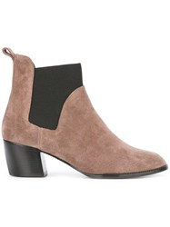 Robert Clergerie 'Marty' Boots Nude Neutrals
