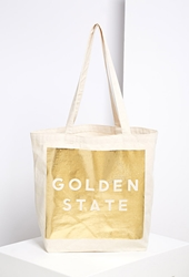 Forever 21 Sisters Of Los Angeles Golden State Tote Bag