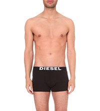Diesel Pack Of Three Kory Stretch Cotton Trunks Black