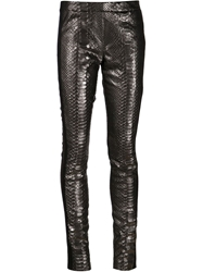Haider Ackermann Panel Leggings Black