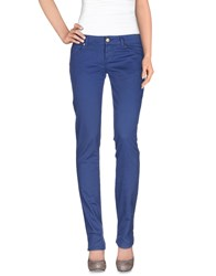 Galliano Trousers Casual Trousers Women Pastel Blue