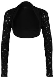 Morgan Cabou Cardigan Noir Black