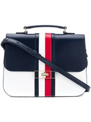 Tommy Hilfiger Flap Crossbody Bag Blue