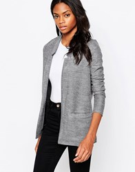 Ax Paris Textured Blazer Jacket Grey