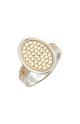 Anna Beck Oval Skinny Band Ring