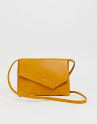 Matt And Nat Riya Clutch Bag In Mustard Yellow