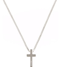 Seven London Classic Cross Pendant Silver