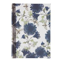 Jessica Russell Flint Purple Flowers Notebook