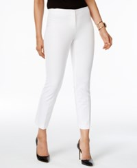 Alfani Petite Cropped Pants Only At Macy's Bright White