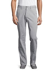 G Star Stretch Cotton Chinos Grey