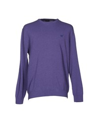 Henry Cotton's Sweaters Purple