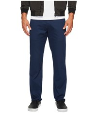Vans Authentic Stretch Chino Pants Dress Blues Casual Pants Navy