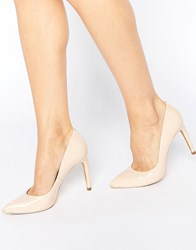 Ted Baker Neevo Nude Patent Court Shoes Nude Patent Leather Beige